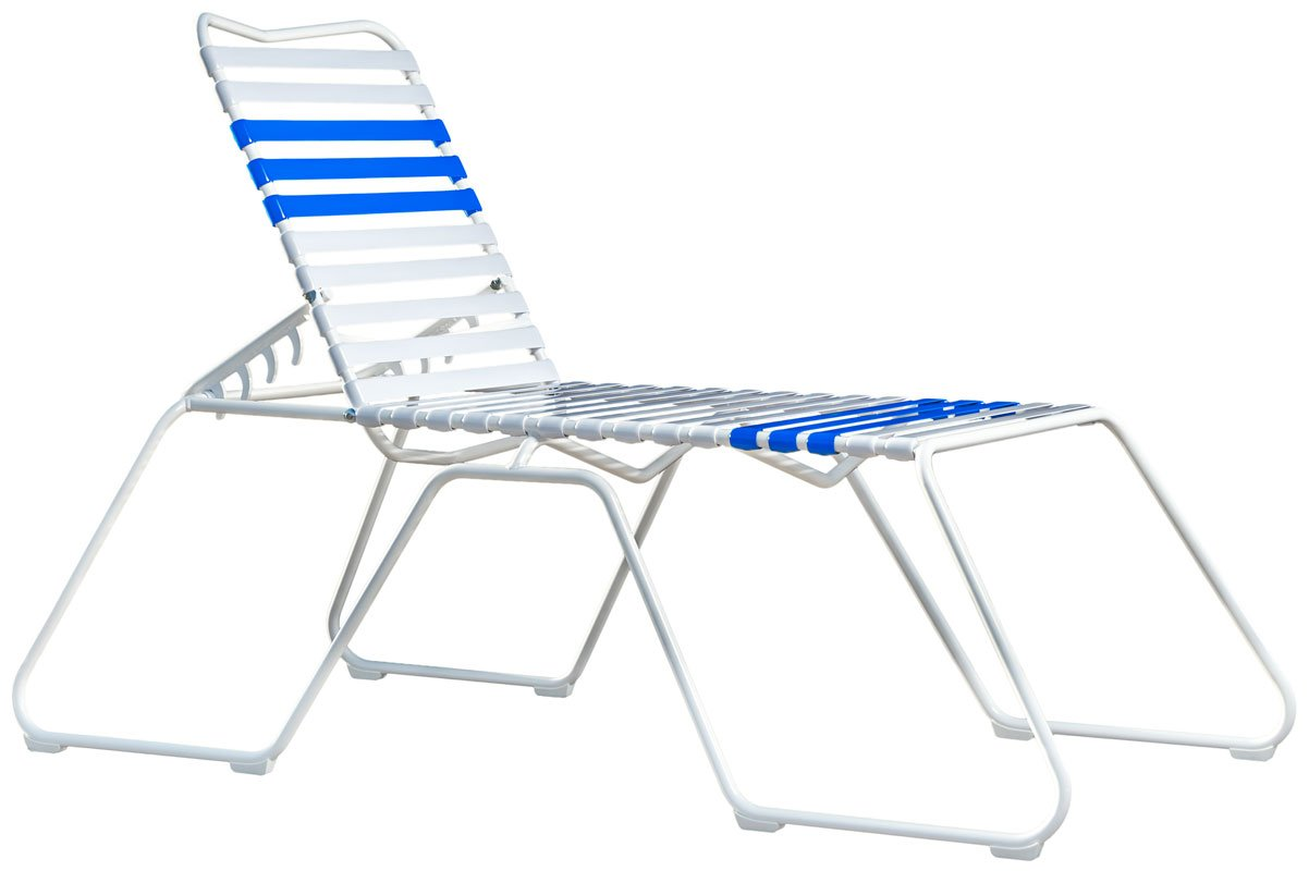 The Martin High Chaise Lounge Chairs Sit In Comfort