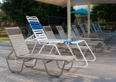 The Martin™ High Seat Chaise Lounge Chairs are accessible and standing out from the rest